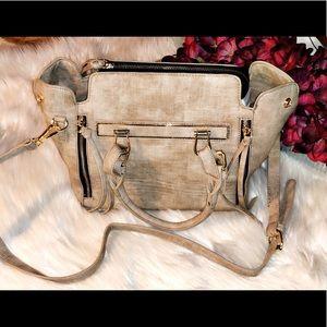 🆕LE MIEL Taupe Convertible Bag/Backpack